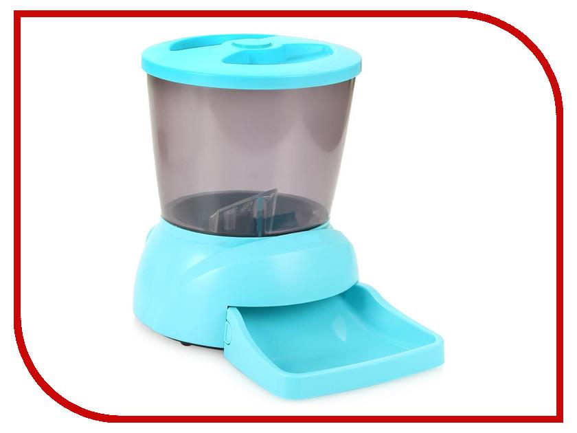 Автоматическая кормушка Feed-Ex PF7B Blue для животных туалет feed ex мульти кэт lk2