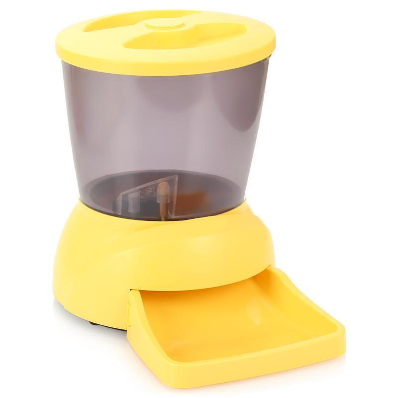 Автоматическая кормушка Feed-Ex PF7Y Yellow для животных