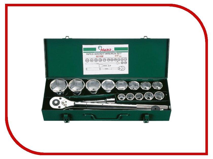 Набор инструмента Hans 6616M набор инструмента hans 16615m