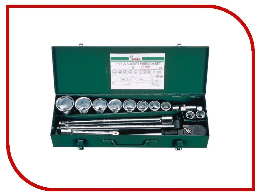 Набор инструмента Hans 6615M набор инструмента hans 16615m