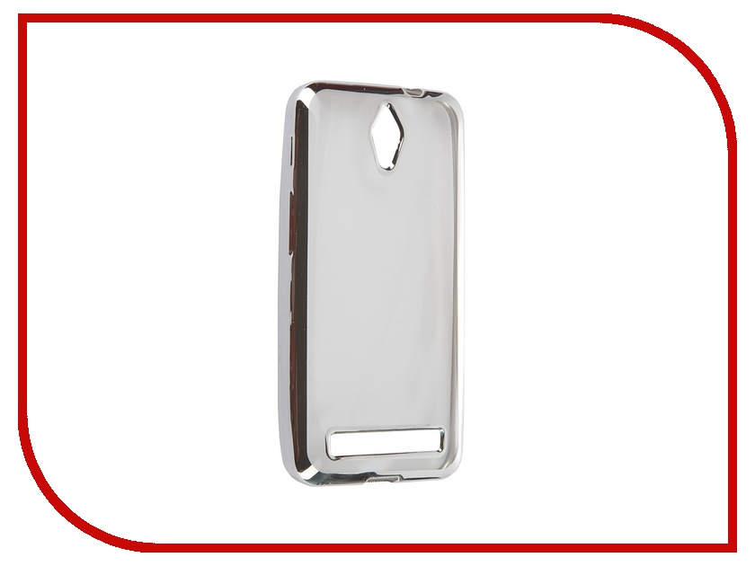 Аксессуар Чехол для ASUS ZenFone C ZC451CG Ultra Slim Silver GC GAZCBSi gc y06002l1 gc