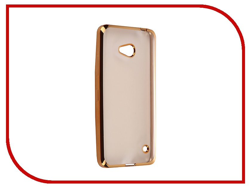 Аксессуар Чехол Microsoft Lumia 640 Ultra Slim Gold GC GMIL640BGo<br>