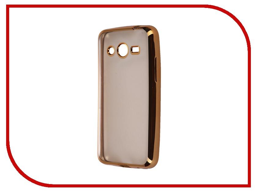 Аксессуар Чехол-накладка Samsung Core 2 G355 Ultra Slim Gold GC GSCG355BGo<br>