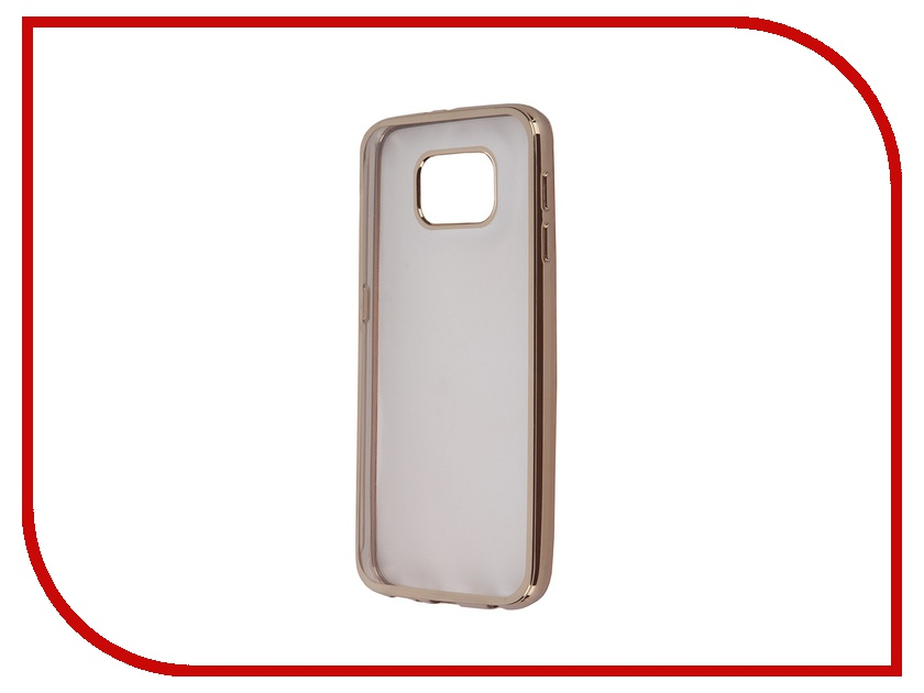 Аксессуар Чехол-накладка Samsung G920F Galaxy S6 Ultra Slim Gold GC GSGS6BGo<br>