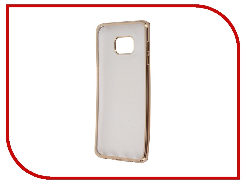 Аксессуар Чехол-накладка Samsung G928F Galaxy S6 Edge+ Ultra Slim Gold GC GSGS6EPBGo<br>