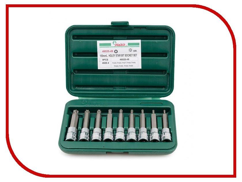 Набор инструмента Hans Torx 46025-49<br>