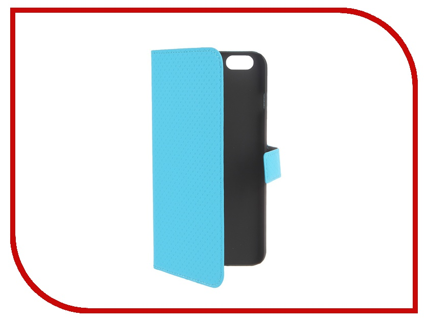 Аксессуар Чехол Muvit Wallet Folio Stand Case для iPhone 6 Plus Blue MUSNS0075 muvit muvit smooth slim folio для iphone 6 plus 6s plus