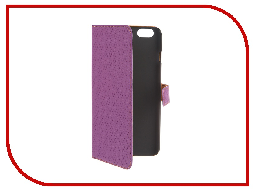 Аксессуар Чехол Muvit Wallet Folio Stand Case для iPhone 6 Plus Purple MUSNS0076 muvit muvit smooth slim folio для iphone 6 plus 6s plus