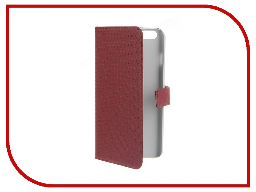 все цены на Аксессуар Чехол Muvit Wallet Folio Stand Case для iPhone 6 Plus Red MUSNS0077 онлайн