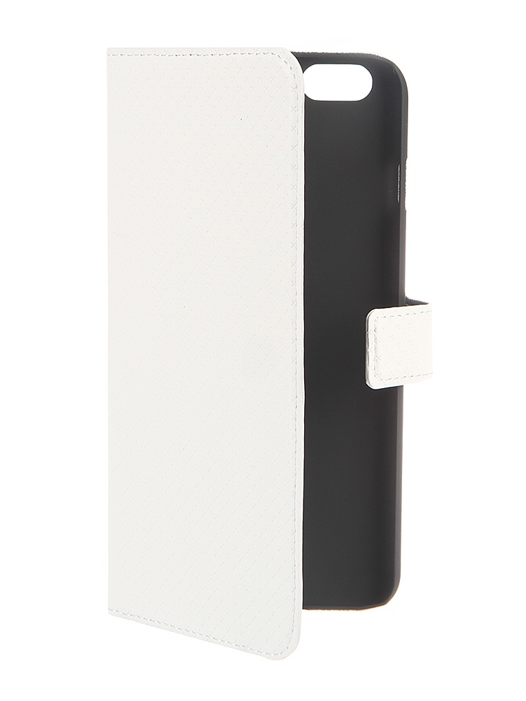 Аксессуар Чехол Muvit Wallet Folio Stand Case для iPhone 6 Plus White MUSNS0078<br>