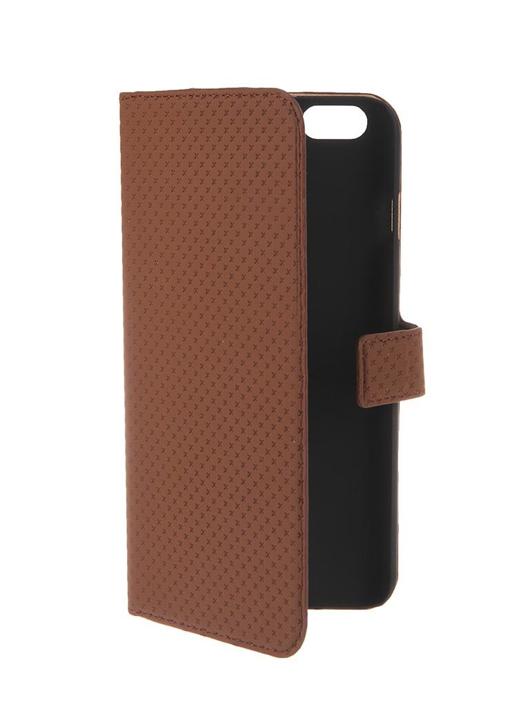 Аксессуар Чехол Muvit Wallet Folio Stand Case для iPhone 6 Plus Brown MUSNS0079<br>