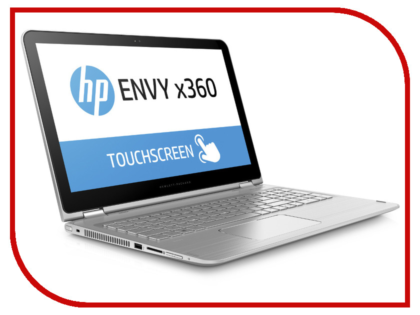 ������� HP Envy 15x360 15-w101ur Natural Silver P0T19EA Intel Core i7-6500U 2.5 GHz/16384Mb/1000Gb/No ODD/nVidia GeForce 930M 2048Mb/Wi-Fi/Bluetooth/Cam/15.6/1920x1080/Touchscreen/Windows 10 64-bit