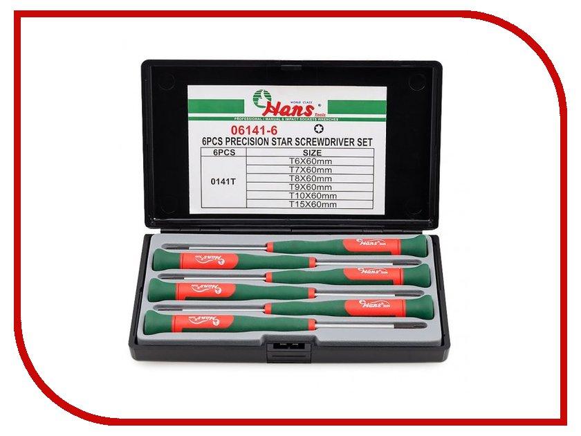 Набор инструмента Hans Torx 06141-6<br>