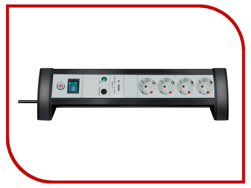 Сетевой фильтр Brennenstuhl Premium-Office-Line 4 Sockets 1.8m 1156350414<br>