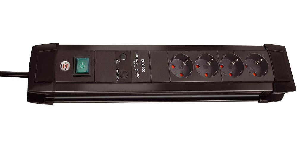 Сетевой фильтр Brennenstuhl Premium-Line 4 Sockets 1.8m 1155000374