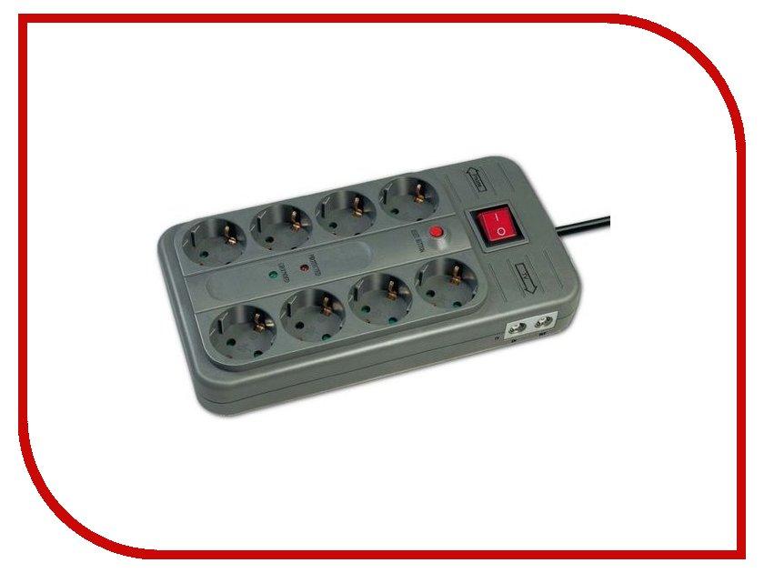 ������� ������ Brennenstuhl Super-Solid-Line 8 Sockets 1.4m 1153340328