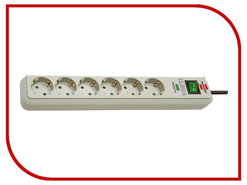 Сетевой фильтр Brennenstuhl Eco-Line 6 Sockets 1.5m 1159750015<br>