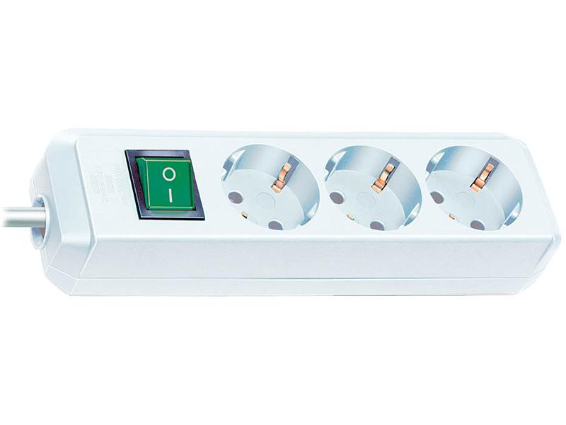 Сетевой фильтр Brennenstuhl Eco-Line 3 Sockets 5m White 1152920 аксессуар переходник brennenstuhl 1508530