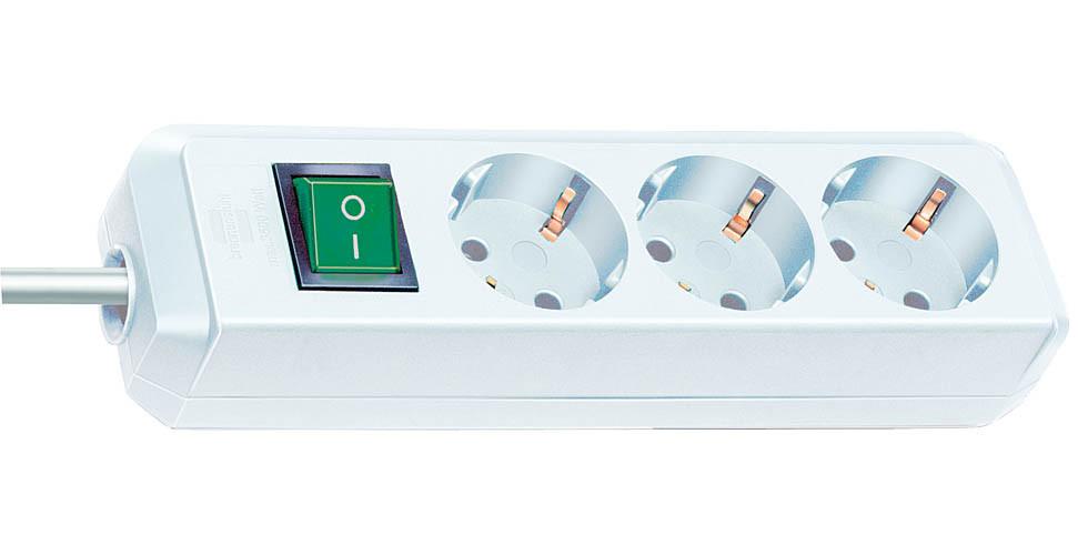 Сетевой фильтр Brennenstuhl Eco-Line 3 Sockets 3m White 1152320400