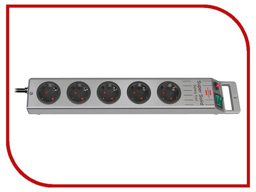 Сетевой фильтр Brennenstuhl Super-Solid-Line 5 Sockets 2.5m 1153340115