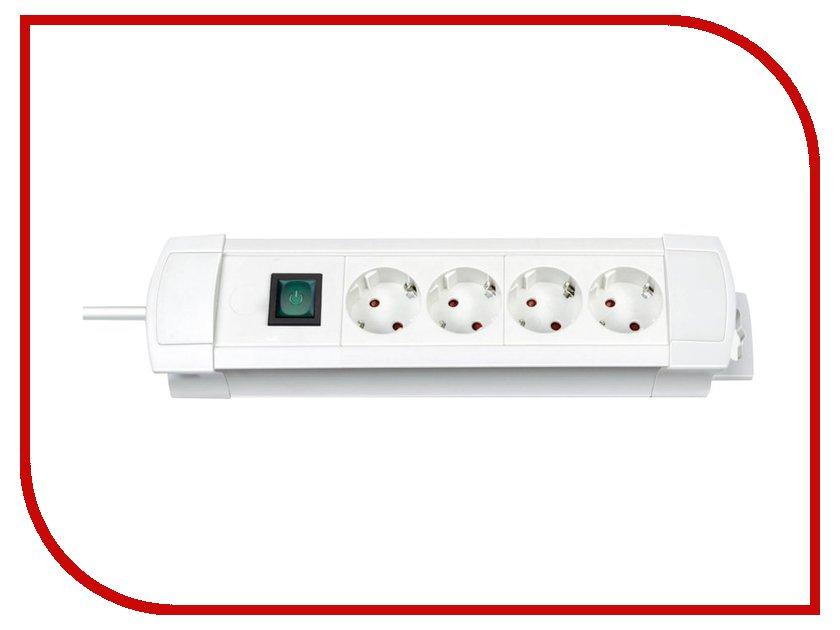 Сетевой фильтр Brennenstuhl Premium-Line 4 Sockets 1.8m White 1155220014<br>