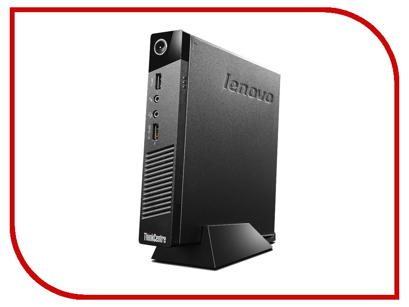 Неттоп Lenovo ThinkCentre M53 Tiny 10DES00C00 Intel Celeron J1800 2.41 GHz/4096Mb/120Gb SSD/no DVD/Intel HD Graphics/Wi-Fi/Bluetooth/DOS<br>