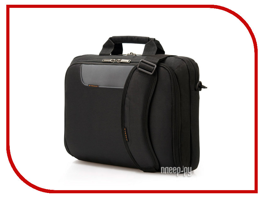 цены Аксессуар Сумка 10.0 Everki Advance Black EKB407NCH10