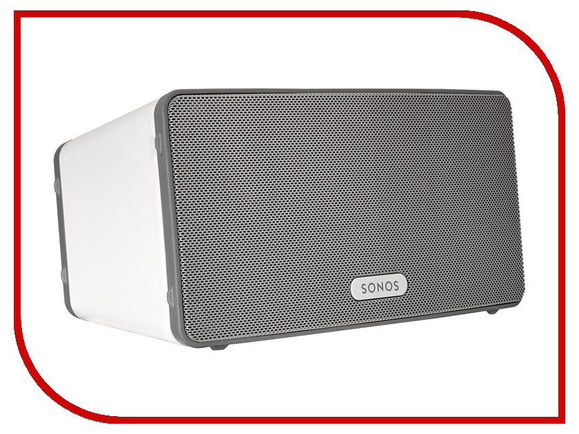 Zakazat.ru: Медиаплеер Sonos Play 3 White
