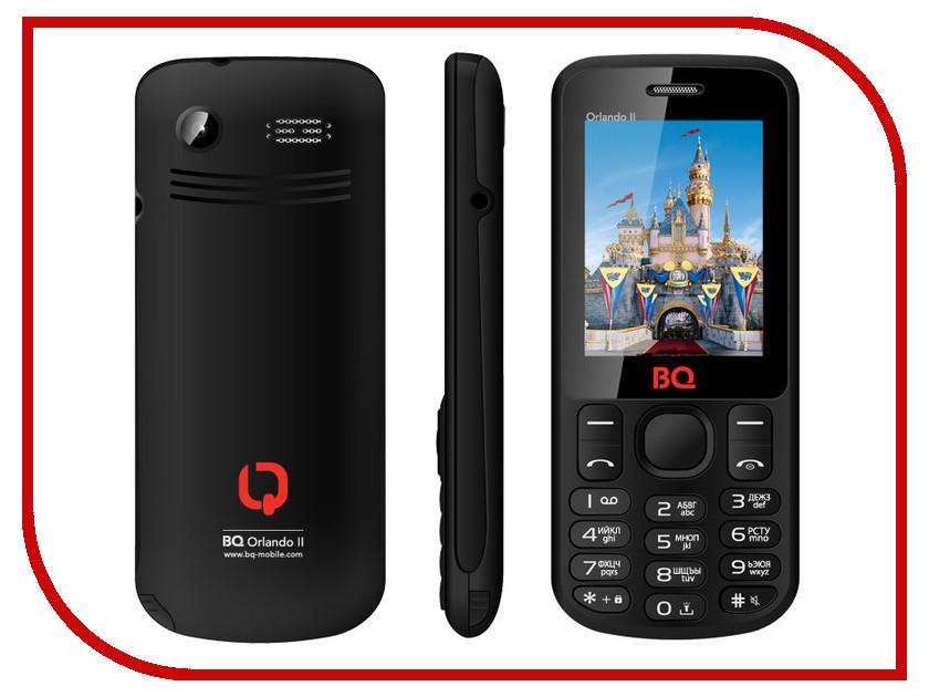 Сотовый телефон BQ BQM-2403 Orlando II Black
