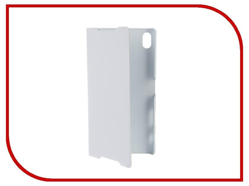 Аксессуар Чехол Sony Xperia Z5 Premium BROSCO White Z5P-BOOK-WHITE<br>
