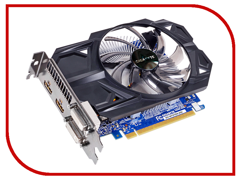 Видеокарта GigaByte GeForce GTX 750 Ti 1020Mhz PCI-E 3.0 2048Mb 5400Mhz 128 bit 2xDVI 2xHDMI HDCP GV-N75TD5-2GI luoyang yto engine lr4108t53 parts the set of piston rings part number rb 050002 1 03 1 0200 1