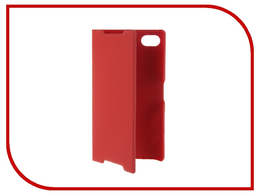 Аксессуар Чехол Sony Xperia Z5 Compact BROSCO Red Z5C-BOOK-RED<br>