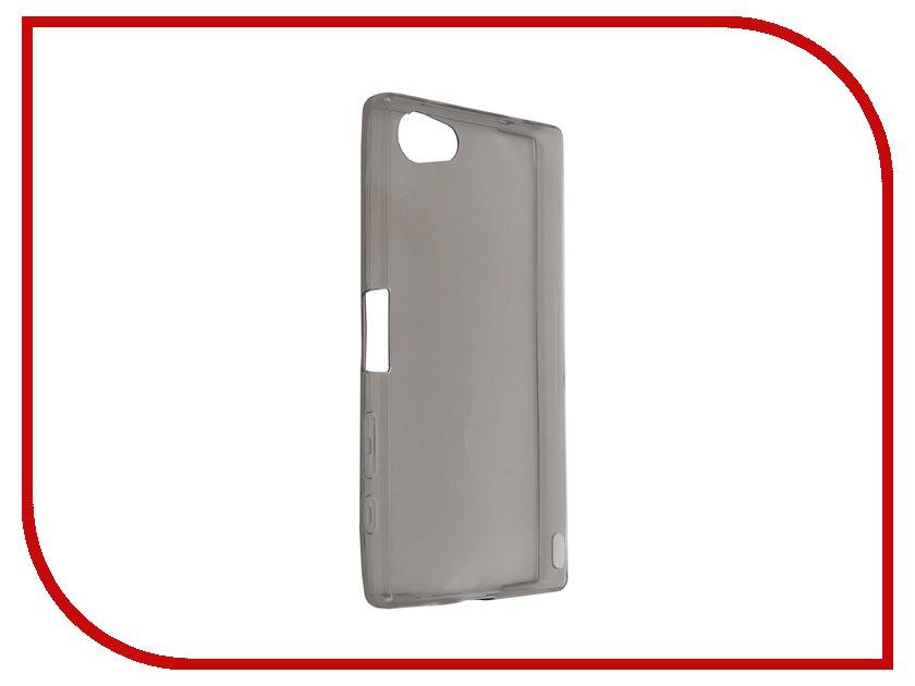 Аксессуар Чехол Sony Xperia Z5 Compact BROSCO Black Z5C-TPU-BLACK