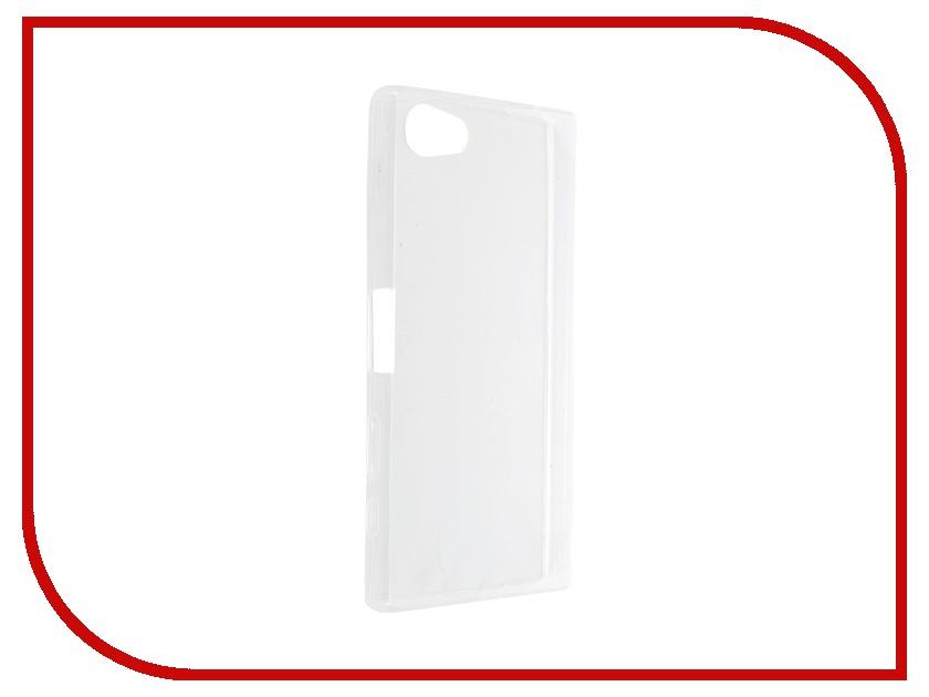 все цены на  Аксессуар Чехол Sony Xperia Z5 Compact BROSCO Transparent Z5C-TPU-TRANSPARENT  онлайн