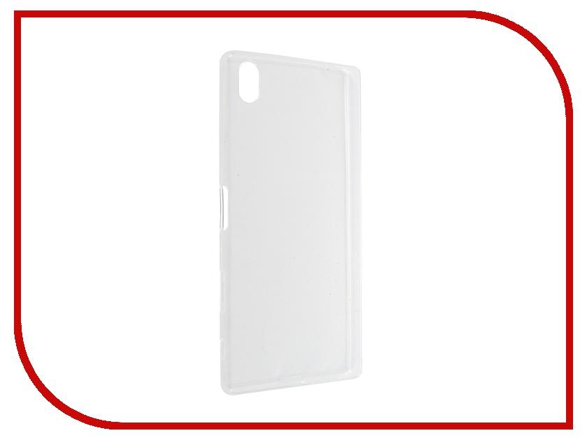 Аксессуар Чехол Sony Xperia Z5 Premium BROSCO Transparent Z5P-TPU-TRANSPARENT аксессуар защитное стекло sony xperia z5 premium brosco 0 3mm z5p sp glass