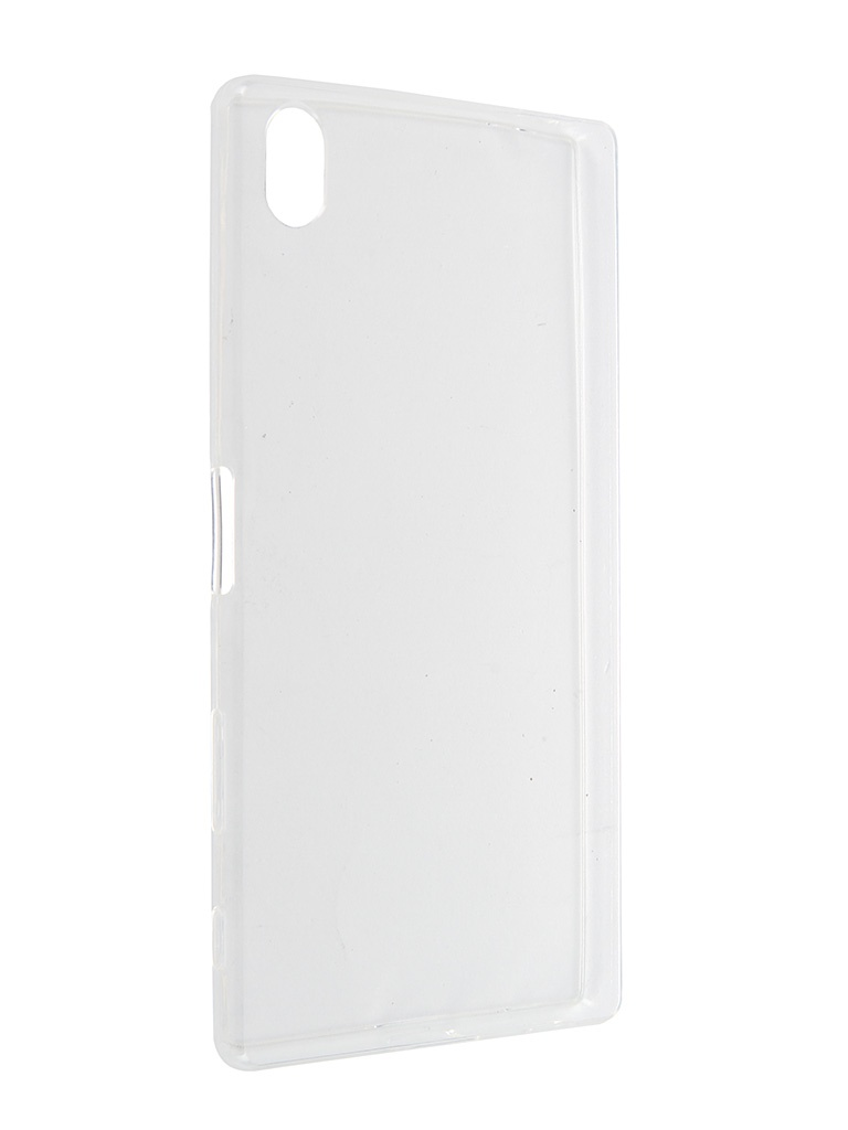 Аксессуар Чехол Sony Xperia Z5 Premium BROSCO Transparent Z5P-TPU-TRANSPARENT<br>