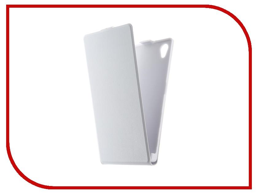Аксессуар Чехол Sony Xperia Z5 BROSCO White Z5-SLIMFLIP-WHITE<br>