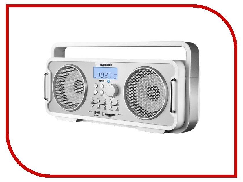 все цены на Радиоприемник Telefunken TF-SRP3401B White онлайн