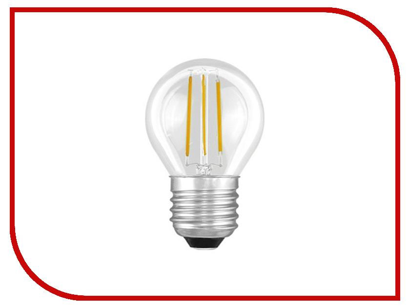 Лампочка Camelion G45 4W 220V E27 3000K 375 Lm LED4-G45-FL/830/E27<br>