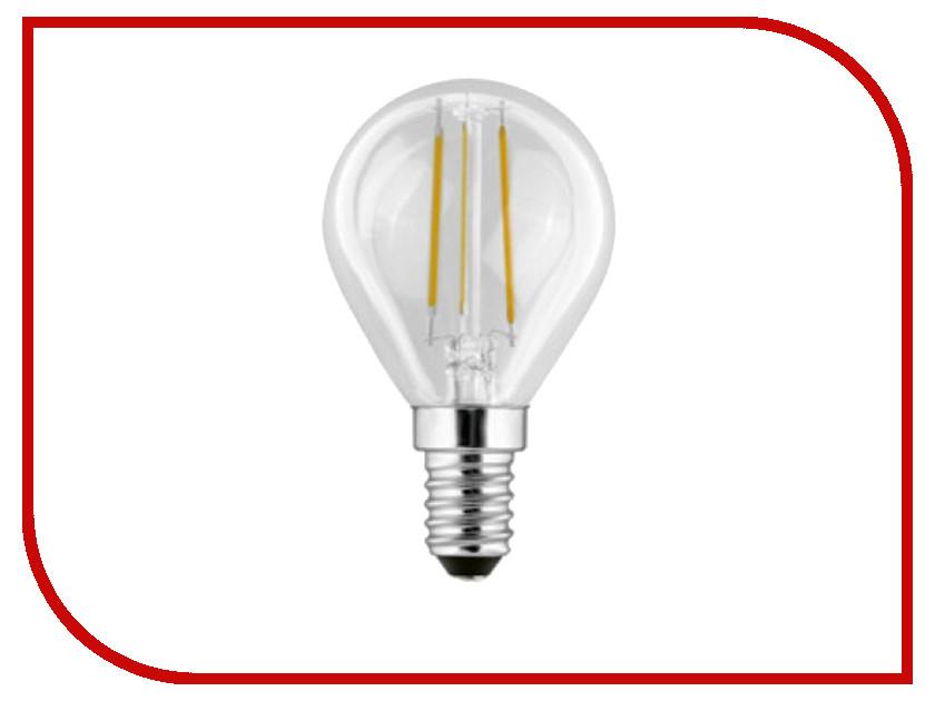 Лампочка Camelion G45 4W 220V E14 3000K 375 Lm LED4-G45-FL/830/E14<br>