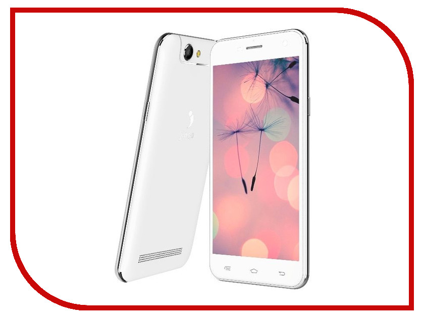 Сотовый телефон Jinga Basco M500 3G White<br>
