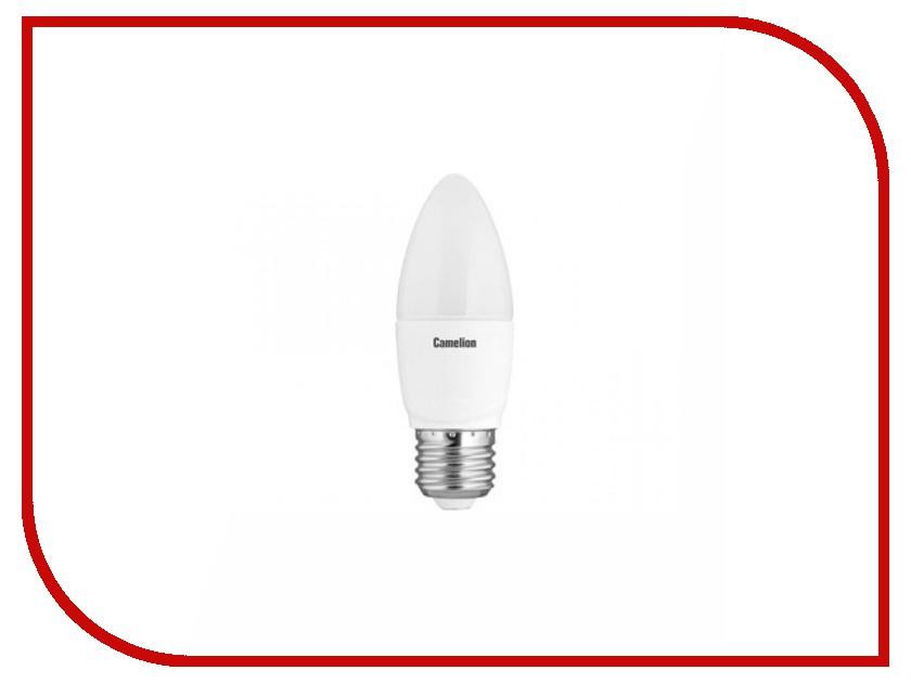 Лампочка Camelion C35 7W 220V E27 3000K 530 Lm LED7-C35/830/E27 цена и фото