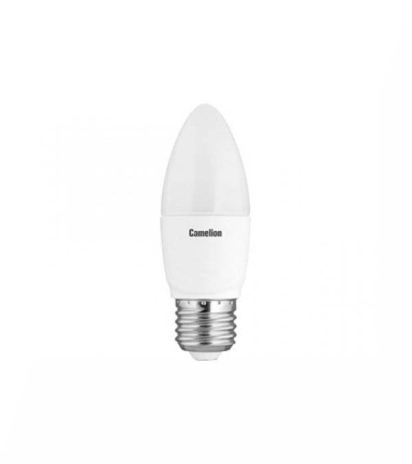 Лампочка Camelion LED7-C35/830/E27<br>