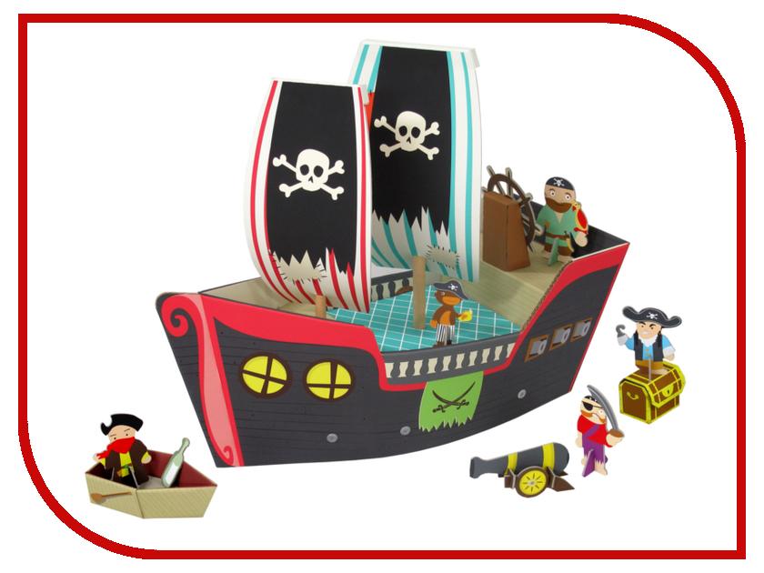 Игрушка Конструктор Krooom Пиратский корабль Купер k-307<br>