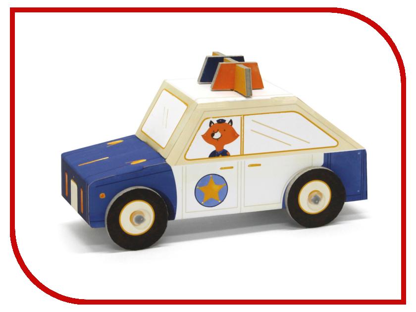 Игрушка Конструктор Krooom Fold My Полицейская машина k-450<br>