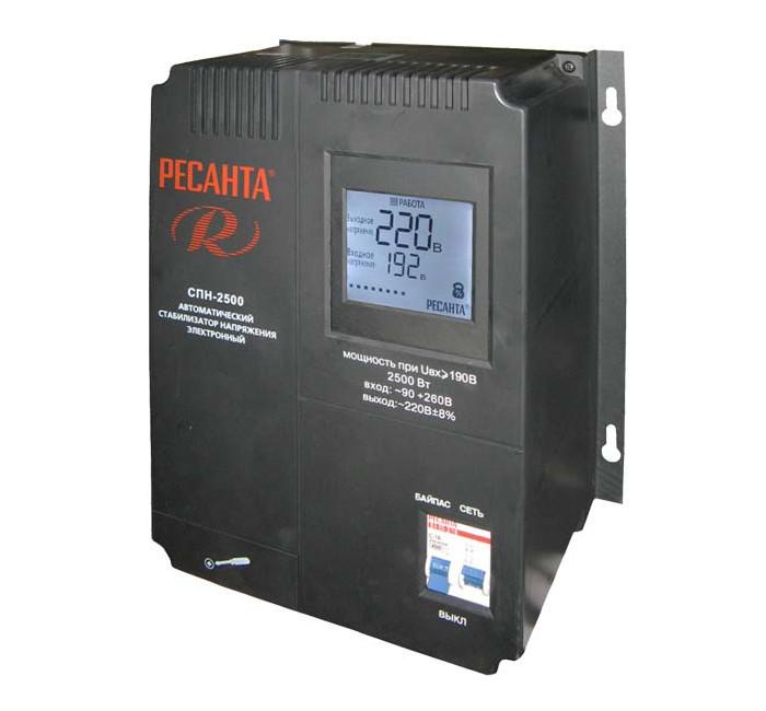 Стабилизатор Ресанта СПН-2500 от Pleer