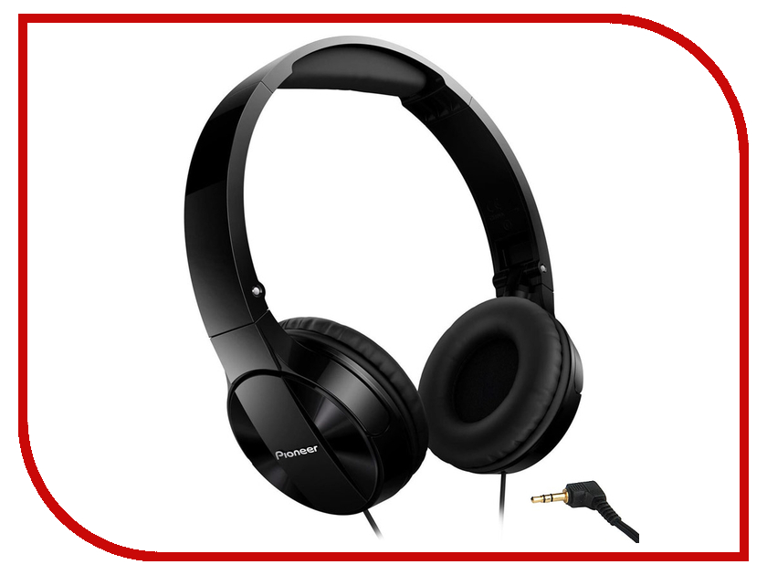 Наушники Pioneer SE-MJ503 Black гарнитура pioneer se mj771bt black