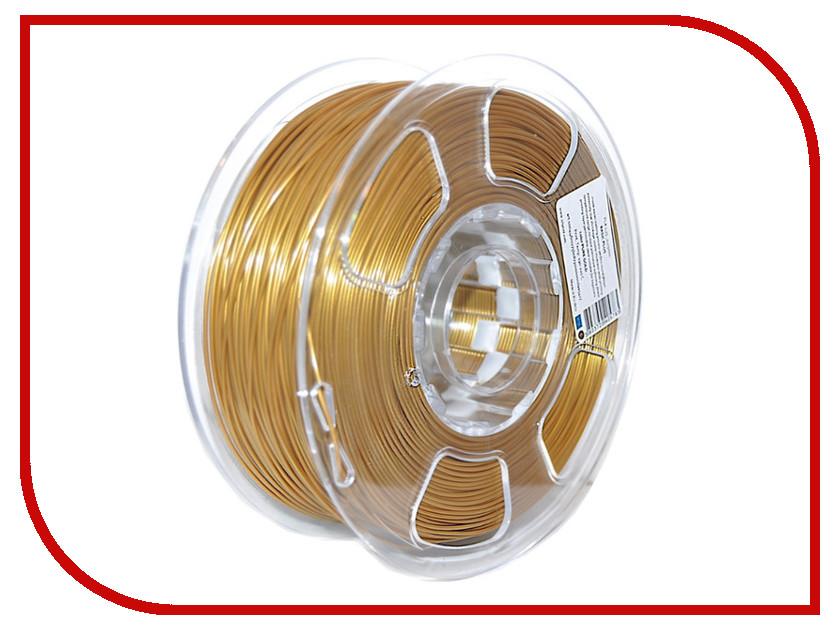 Аксессуар U3Print PLA-пластик 1.75mm 1kg Pure Gold HP аксессуар u3print pla пластик 1 75mm 1кг sunflower fluory hp