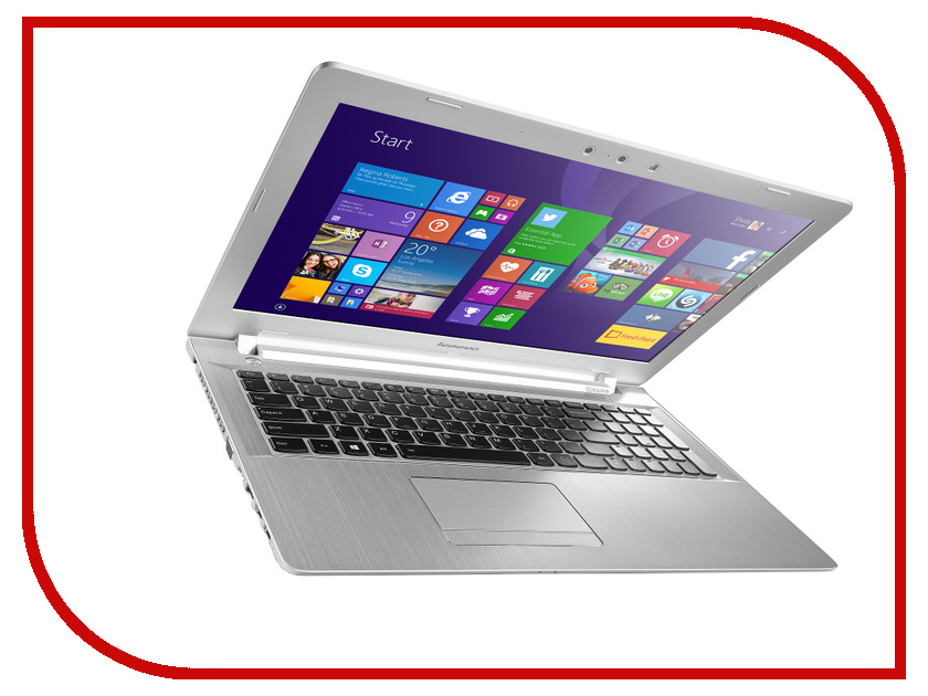 Ноутбук Lenovo IdeaPad Z5170 White 80K6017DRK Intel Core i7-5500U 2.4 GHz/16384Mb/1000Gb/DVD-RW/AMD Radeon R9 M375/Wi-Fi/Bluetooth/Cam/15.6/1920x1080/Windows 10 64-bit<br>