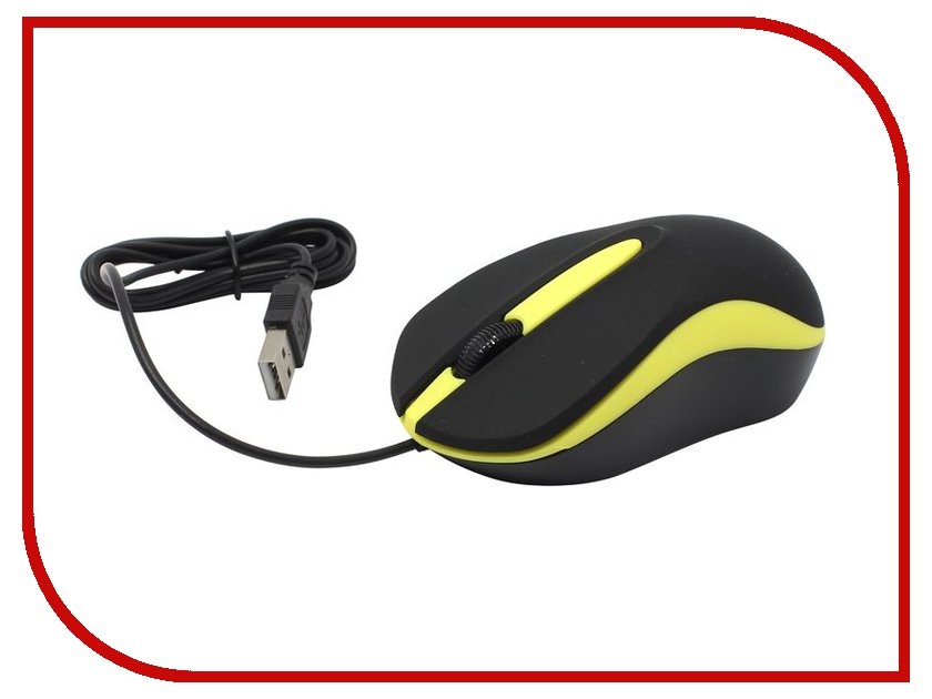 Мышь SmartBuy SBM-329-KY Black-Yellow USB мышь smartbuy 612ag usb red black blue led sbm 612ag rk